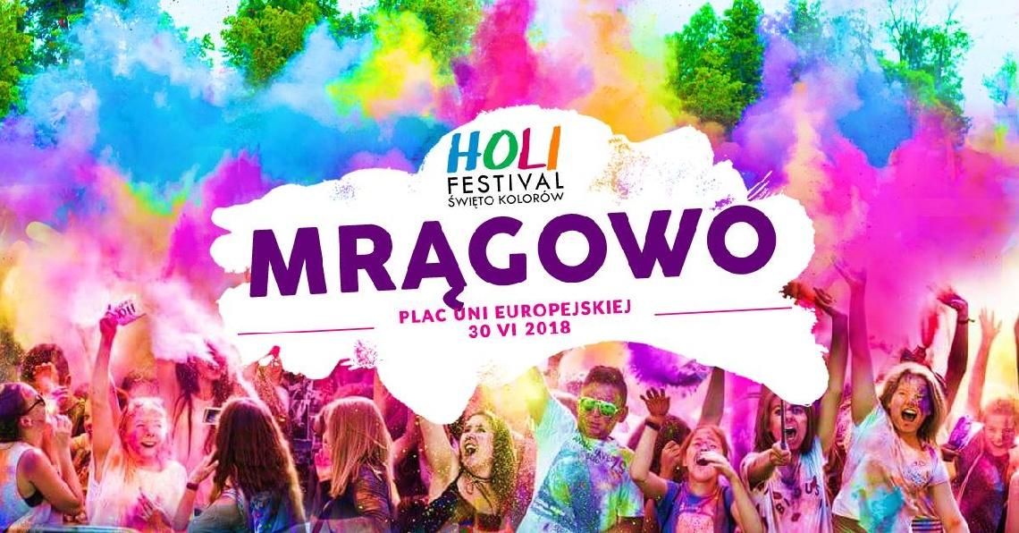 Holi Festival - Święto Kolorów w Mrągowie