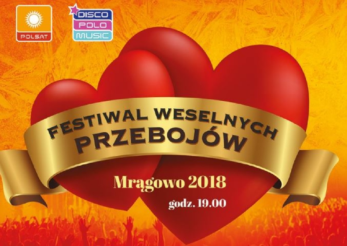 Festiwal Weselnych Przebojów Kalendarz Imprez Mrągowo Miasto