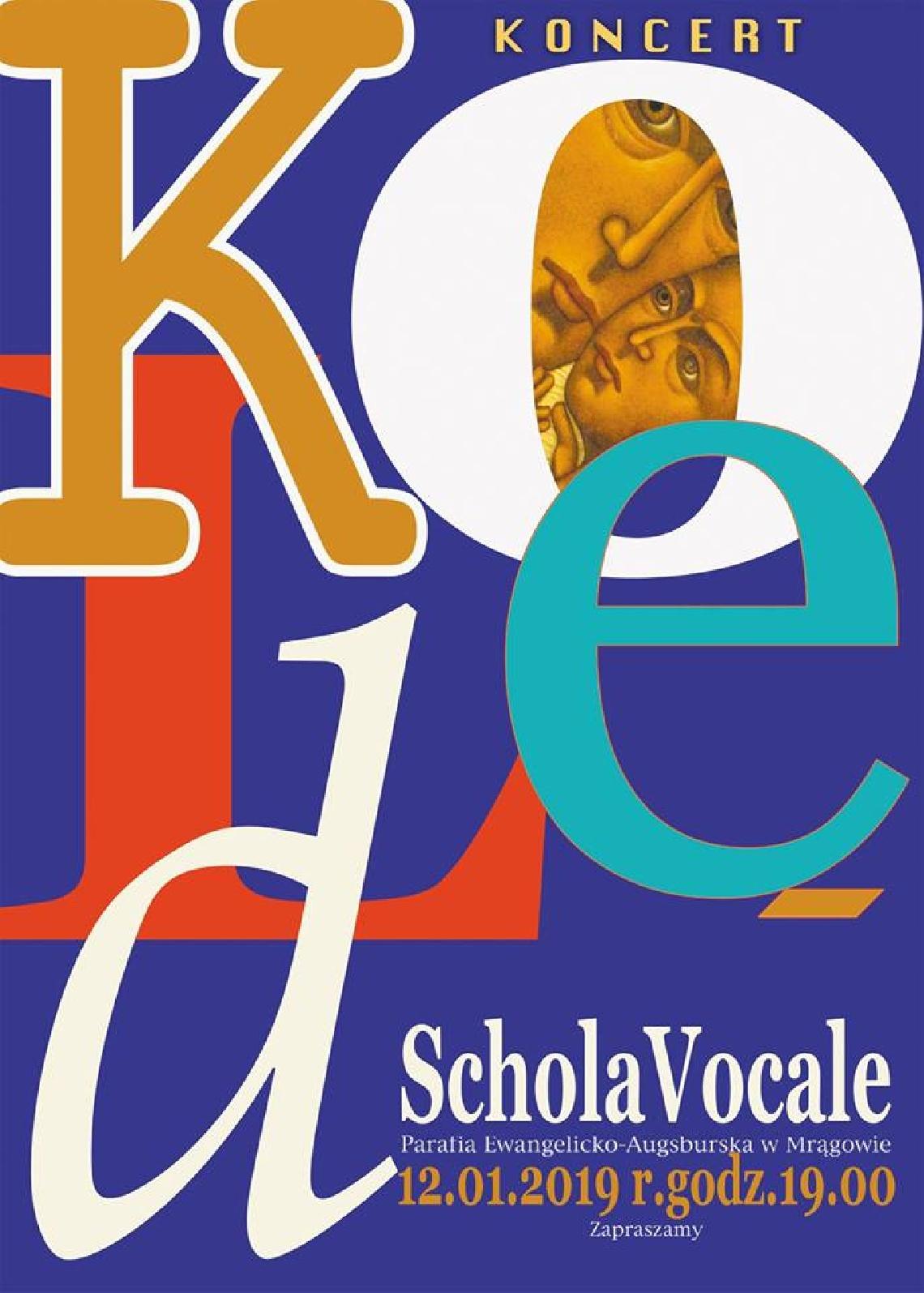Koncert kolęd Chóru Schola Vocale