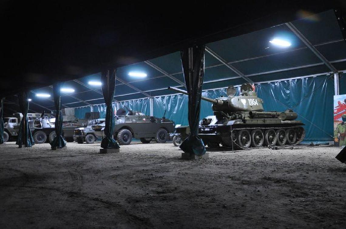 Noc Muzeów w Muzeum Sprzętu Wojskowego