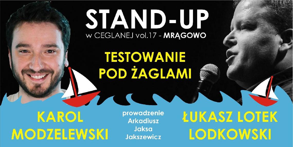 Stand-up w Ceglanej  - Łukasz Lotek Lodkowski & Karol Modzelewski