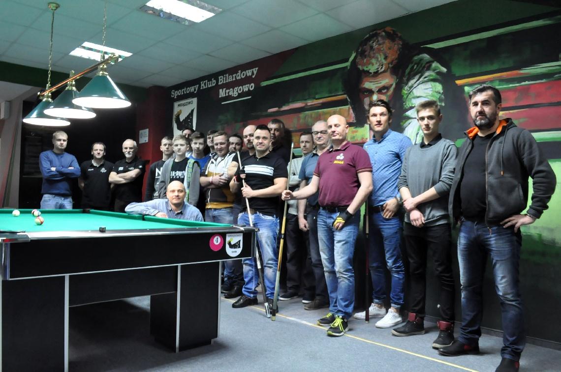 Turniej Bilardowy o Puchar Burmistrza Miasta Mrągowo