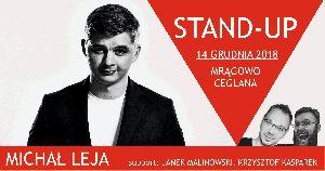 Stand-up w Ceglanej - Michał Leja