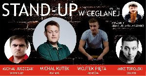 Stand-up w Ceglanej 21 / Kutek, Pięta, Juszczak, Topolski
