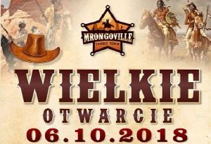 Wielkie otwarcie Mrongoville Family Town