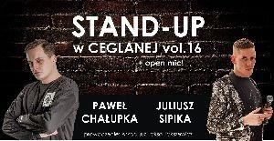 Stand-up w Ceglanej - Paweł Chałupka & Julek Sipika