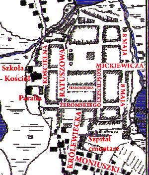 Zwiedzanie Mrągowa z komturem Johannem von Sayn'em