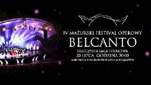 IV Mazurski Festiwal Operowy BELCANTO