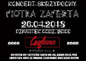 Koncert skrzypcowy Piotra Zaperta