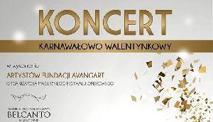 Koncert Karnawałowo-Walentynkowy