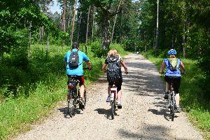 Rajd rowerowy wschodnimi rubieżami Mrągowa