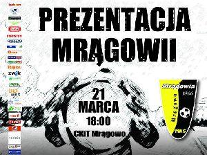 Prezentacja wszystkich drużyn piłkarskich MKS Mrągowia Mrągowo