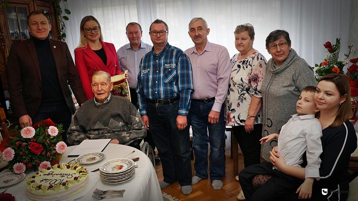 Piękny jubileusz. Antoni Kisiel skończył sto lat! [ZDJĘCIA]