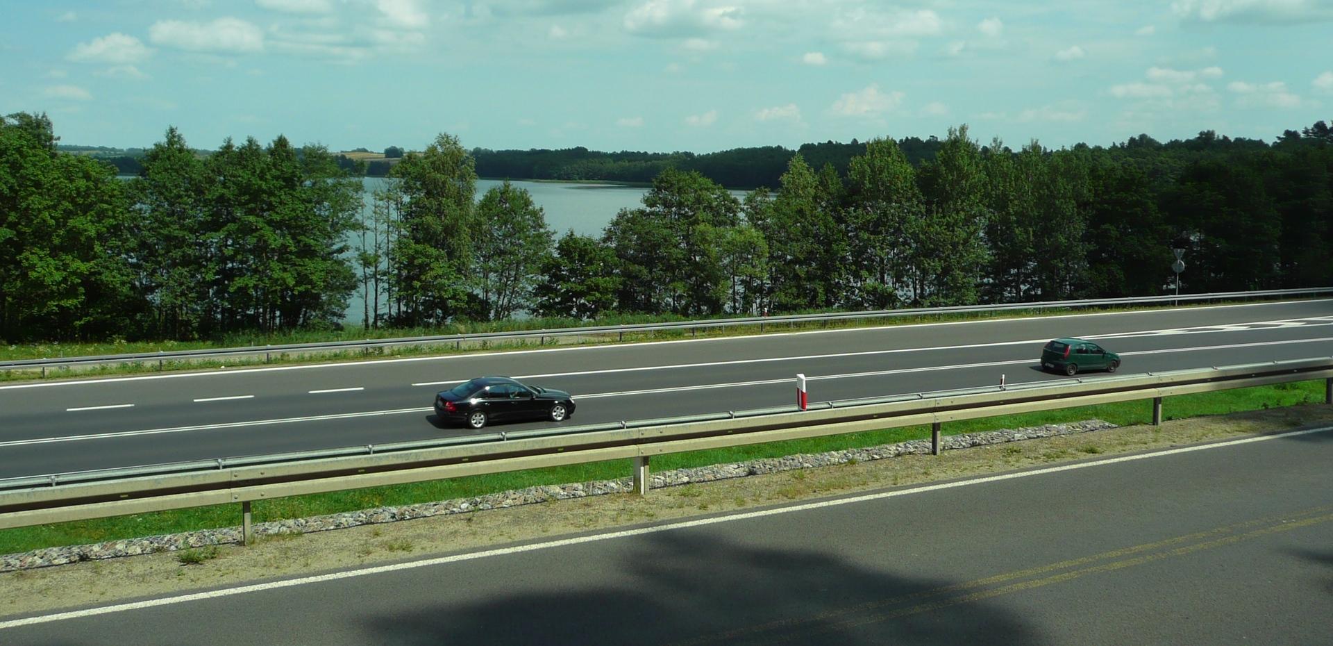 Informacja o budowie drogi S16 – od Borek Wielkich do Mrągowa