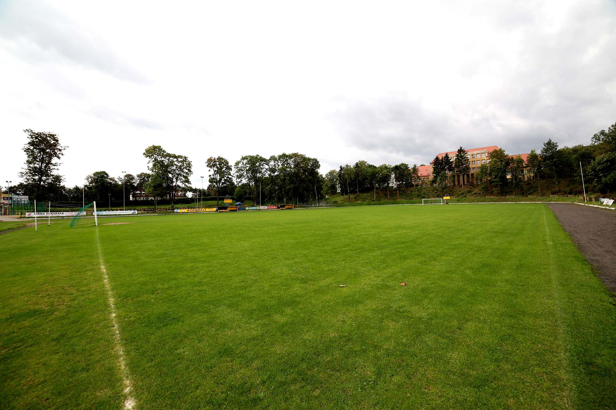 Przebudowa Stadionu Miejskiego w Mrągowie