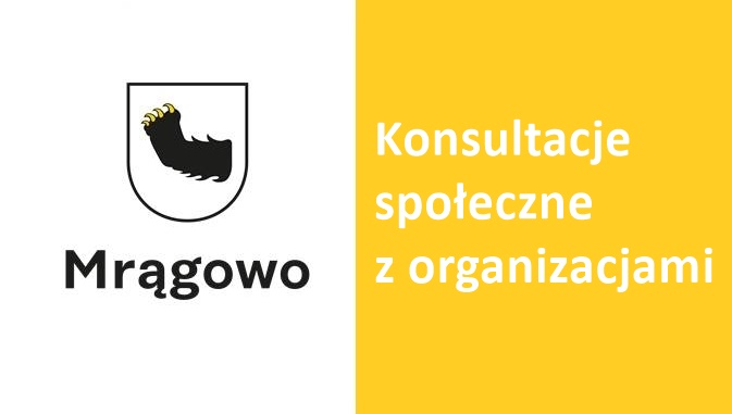 Ogłoszenie o konsultacjach społecznych z organizacjami pozarządowymi