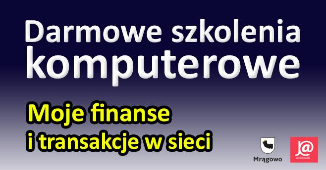 Chcesz nauczyć się załatwiać sprawy biznesowe, finansowe i urzędowe przez internet? Weź udział w szkoleniu !!