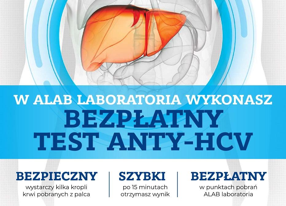 Bezpłatne testy na obecność wirusa HCV dla mieszkańców Mrągowa!