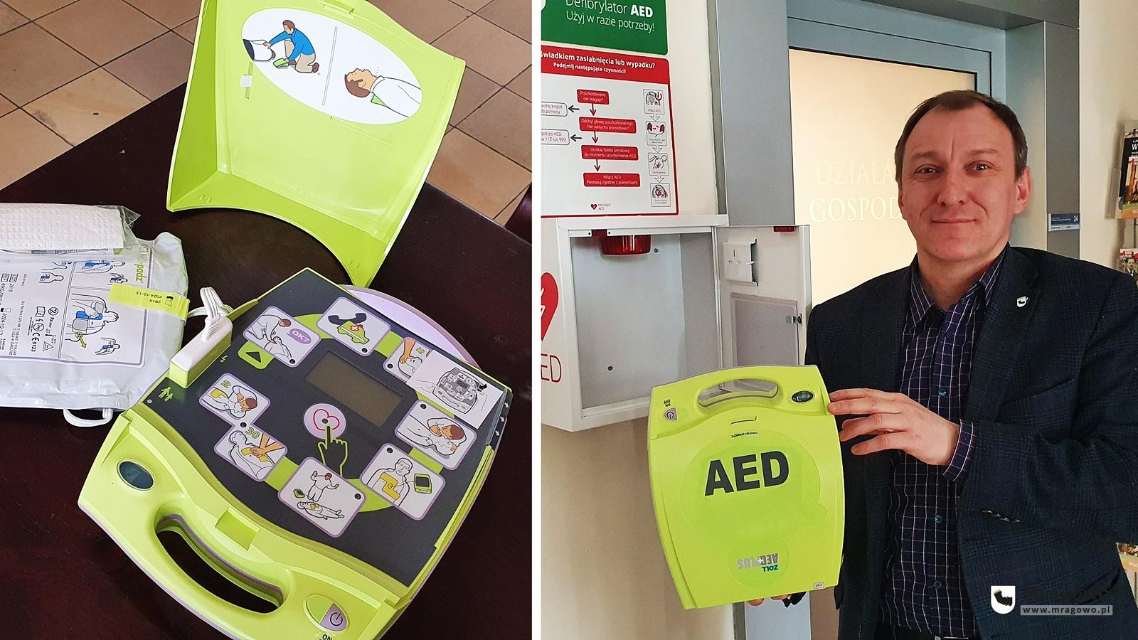 W Urzędzie Miejskim zamontowano defibrylator AED