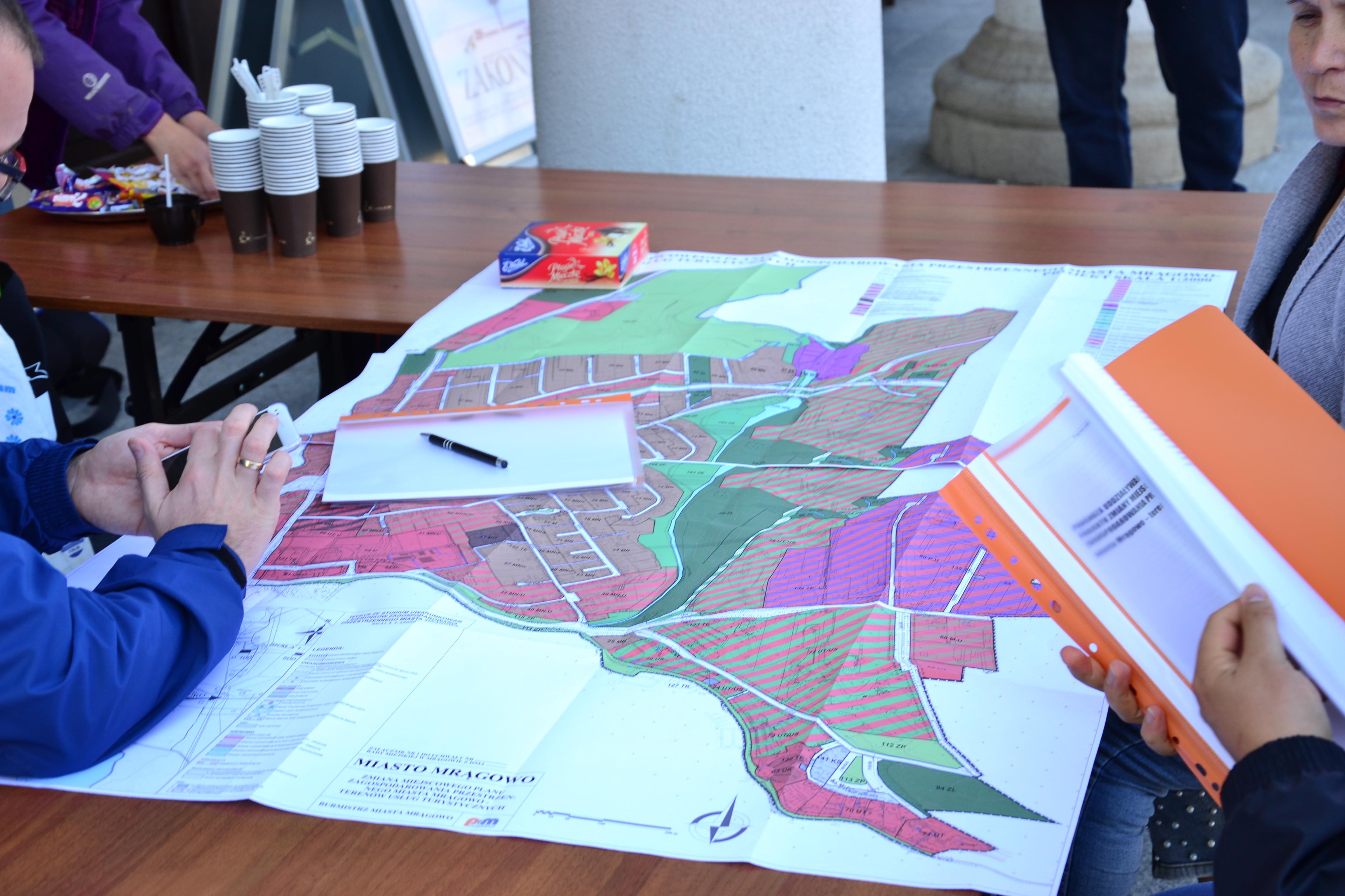 Ponowne wyłożenie planu dla terenów pomiędzy Olsztyńską a Torową