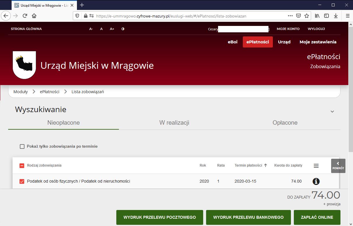 Elektroniczne Biuro Obsługi Interesanta. Sprawdź zobowiązania, zapłać on-line i złóż e-formularz!
