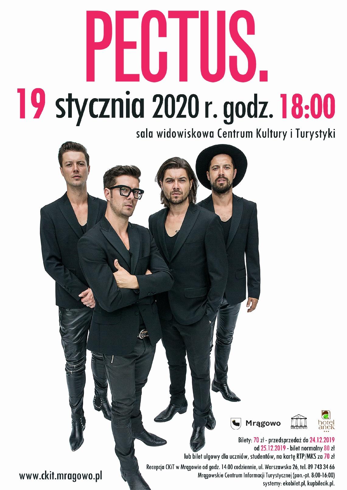 PECTUS koncert kolędowo-noworoczny!