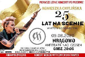 Agnieszka Chylińska - 25 Lat na Scenie! Koncert w Mrągowie!