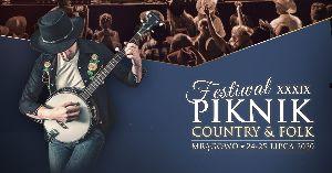 39. Międzynarodowy Festiwal Piknik Country & Folk w Mrągowie