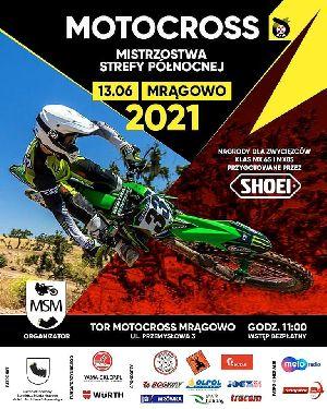 Motocrossowe Mistrzostwa Strefy Północnej 2021