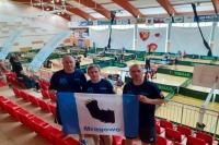 """Tenis stołowy. """"Country Team Mrągowo"""" z licencją PZTS"""