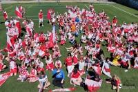 Uczniowie SP nr 1 kibicują Polakom na Euro 2020 [ZDJĘCIA + VIDEO]