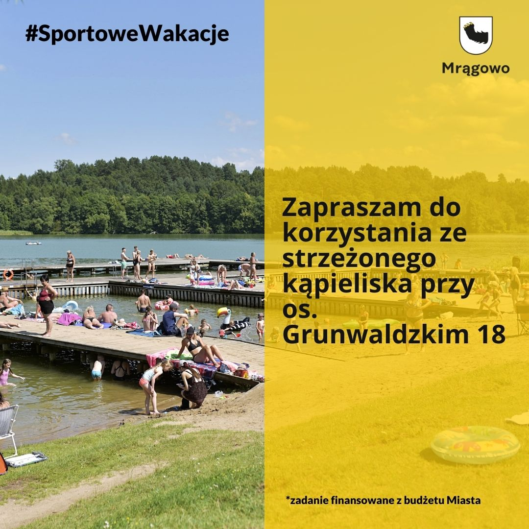 Sportowe wakacje w Mrągowie. Sprawdź ofertę