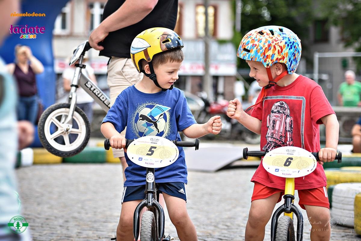 Łaciate Junior Strider Racing, czyli zawody na rowerkach biegowych dla najmłodszych!
