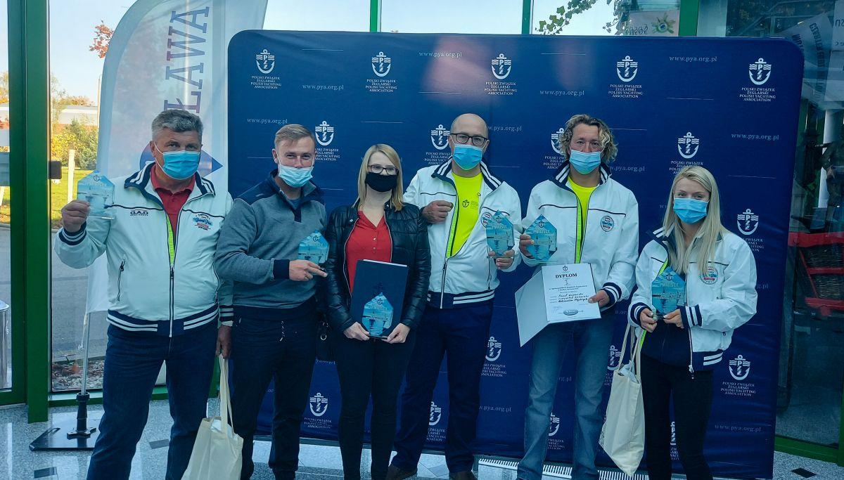 Załoga Pawła Łazarskiego z Mrągowa zwyciężyła w drugich finałowych regatach o Puchar Prezesa PZŻ