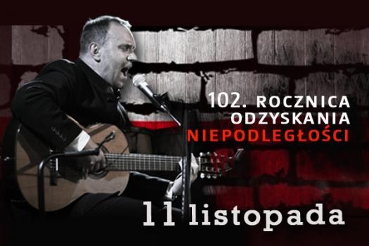Jarosław Chojnacki w repertuarze Jacka Kaczmarskiego. Zapraszamy na bezpłatny koncert do CKiT