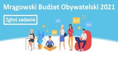 Na co wydać 100 tysięcy złotych? Startuje Mrągowski Budżet Obywatelski 2021. Już można zgłaszać swoje pomysły!