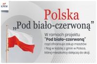 """""""Pod biało-czerwoną"""". Potrzeba 500 głosów, by maszt i flaga trafiły do Mrągowa!"""