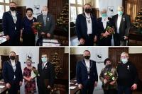 Są ze sobą już 50 lat! Otrzymali medale od Prezydenta RP i prezenty od burmistrza [ZDJĘCIA]