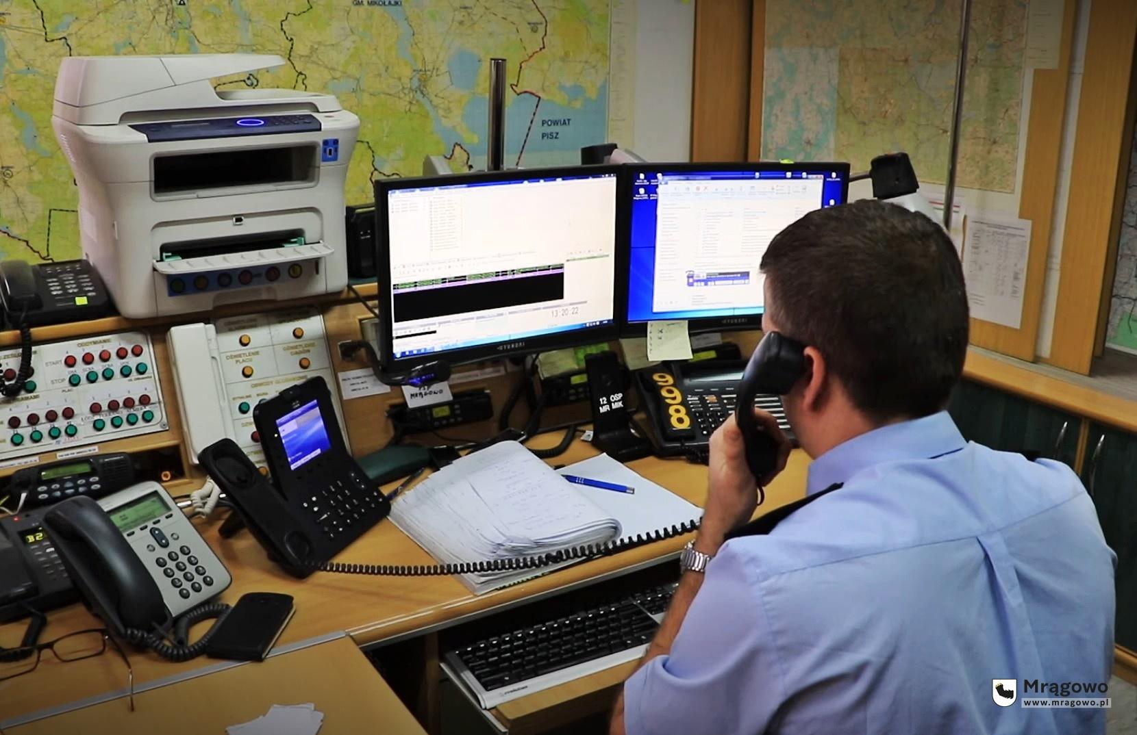 Dzwoniąc pod 998 nie porozmawiasz już ze strażakiem. Numer alarmowy przejmie Centrum Powiadamiania Ratunkowego w Olsztynie