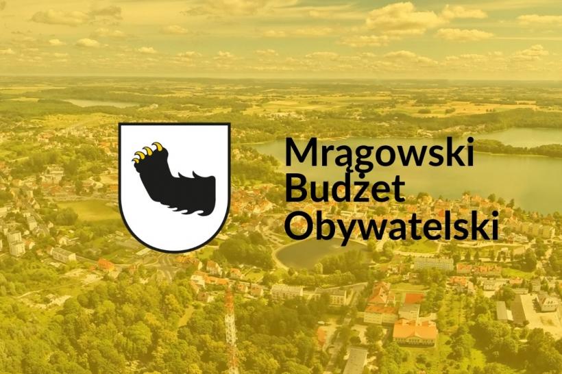 Rusza Mrągowski Budżet Obywatelski 2022. Zgłaszanie pomysłów do 21 maja!