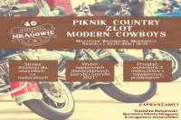 Zlot Modern Cowboys na zakończenie 40. Pikniku Country