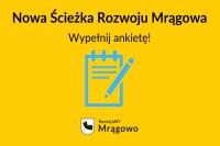 Nowa Ścieżka Rozwoju Mrągowa. Wypełnij ankietę!